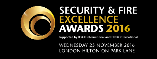 Security and Fire Excellence Awards 2016
