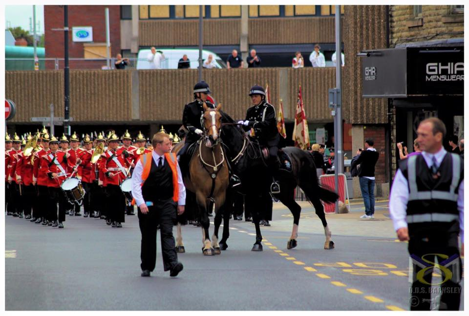 Event security for parades